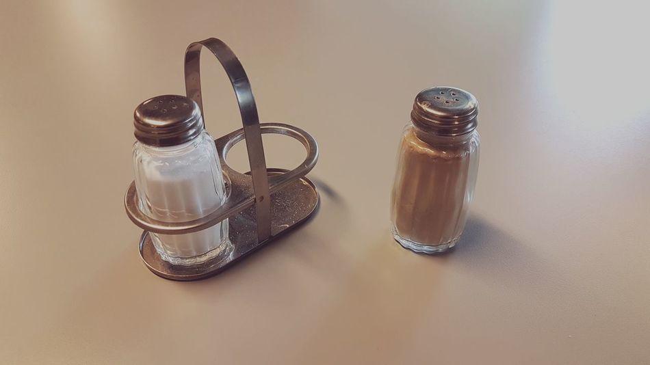 Diversity Racism Salt Pepper Rejection Privilege No People Close-up