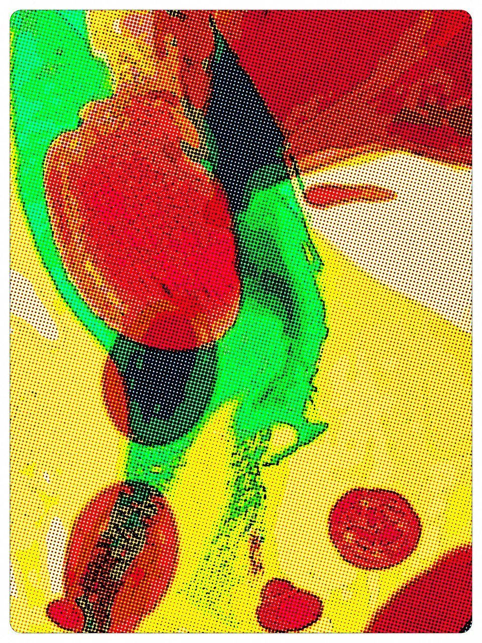 multi colored, red, green color, backgrounds, no people, close-up, indoors, pixelated, day