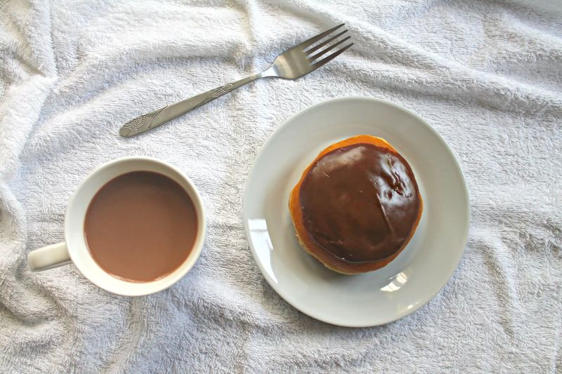 Sweet Donut Food with Vintage Coffee Mug for Breakfast - closeup and top view Coffee Drinks Food And Drink Close-up Coffee - Drink Coffee Cup Day Directly Above Donut Drink Food Food And Drink Foodphotography Foodporn Freshness Healthy Eating High Angle View Indoors  Leftovers No People Refreshment Saucer Sweet Food Table Tea - Hot Drink