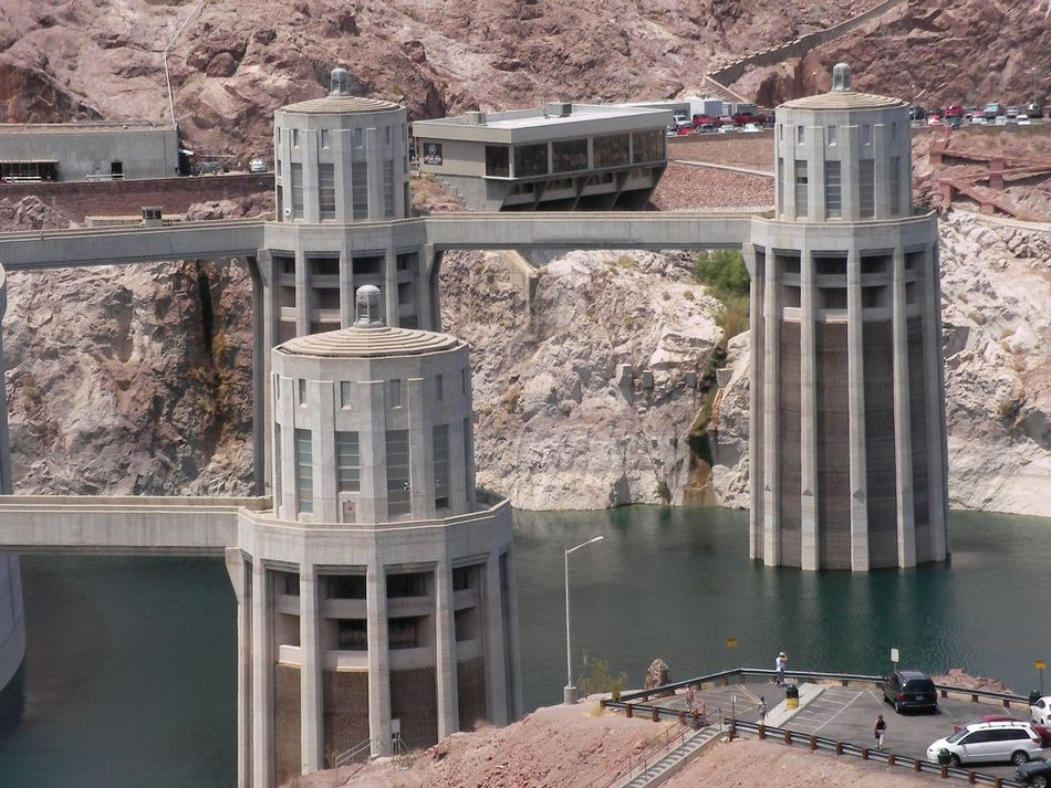 Architecture Architecture Bridge - Man Made Structure Building Terrace Built Structure City Connection Day Electricity  Hoover Hoover Dam Hoover Dam Bypass Bridge Hooverdam Lake Mead No People Outdoors Power Tourism Travel Travel Destinations United States Urban Skyline USA USA Photos USAtrip