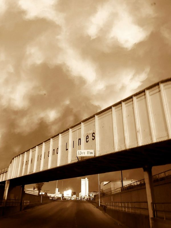 Front View Dramatic Sky Looking At Camera Thunderstorm Beauty In Nature Travel Depressed But Keepin Ahh Smile Cloud - Sky Driving Passenger Seat Amarillo Train Bridge Art Is Everywhere