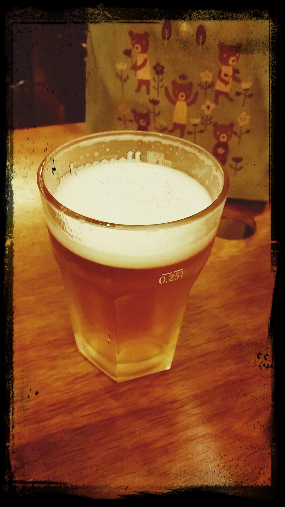 시원한 맥주한잔~크아 좋다!