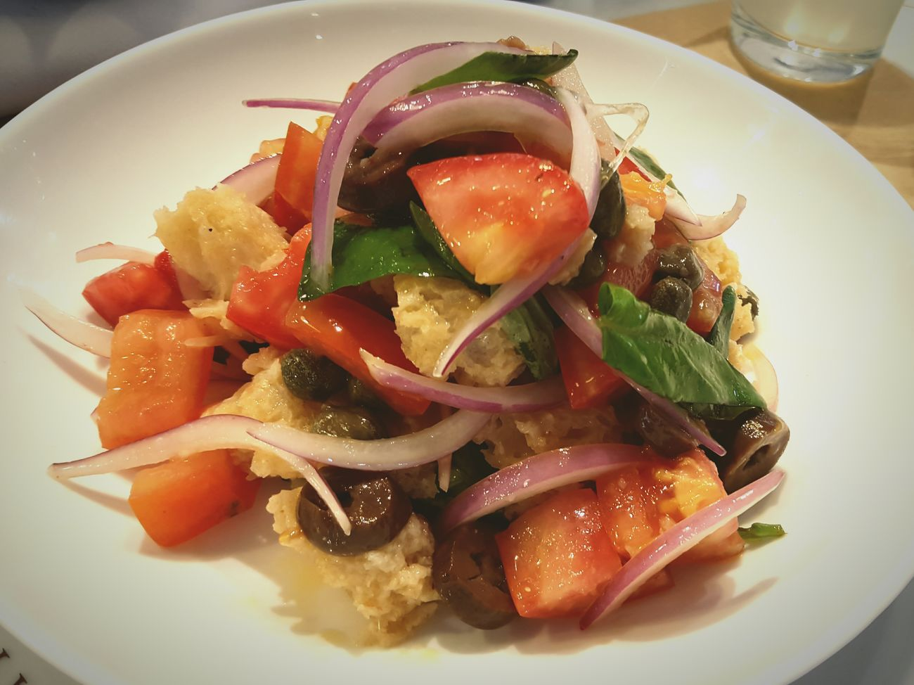 Food Salad Time Panzanella Eatalybr