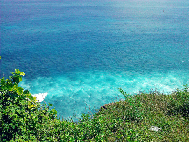Bali, Indonesia Beauty In Nature Blue Sea And Clear Water EyeEm Nature Lover Nature_collection Outdoors Rippled Seascape Seaside Seawaves Tranquil Scene Turquoise Colored Waves, Ocean, Nature