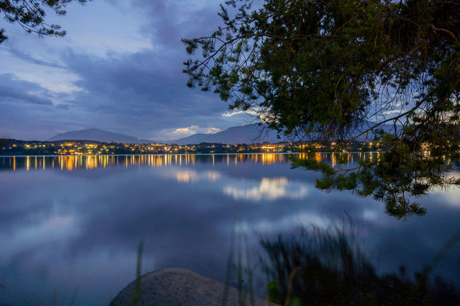 Faakersee, Austria Austria Beauty In Nature Blue Calm Carinthia Cloud Cloud - Sky Countryside Dusk Faakersee Lake Lakeshore Light Majestic Mountain Nightphotography Outdoor Activities Outdoor Photography Reflection Sky Tourism Water Waterfront
