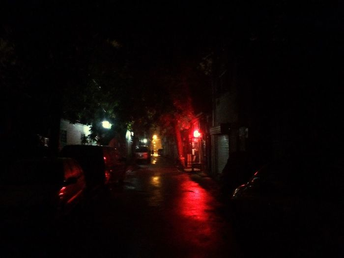 Night Street Lights Night Lights