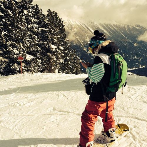 amazing place Italy Snowboarding Sellaronda