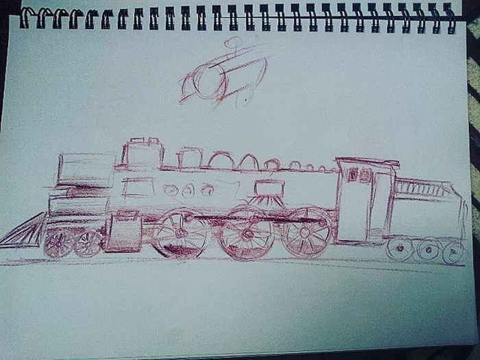 Arminpauldrawing Drawing Drawingtrain Drawingtrains Train Streamtrain Drawingsteamtrains Steamtraindrawing Cafepaulinchen Cafedrawing 2016