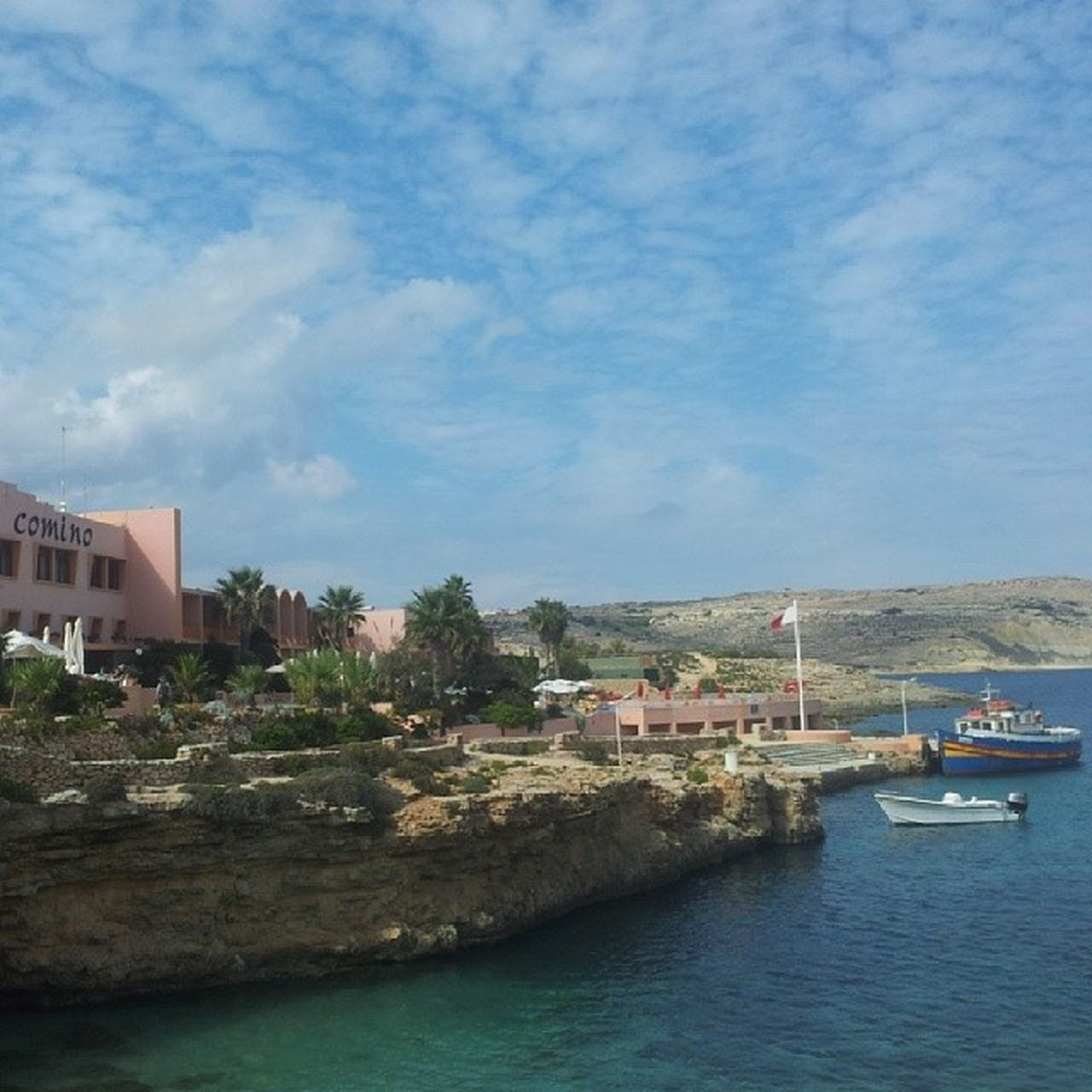Comino Visitcomino Cominoboat Sky cloud clouds bluesky bluewater