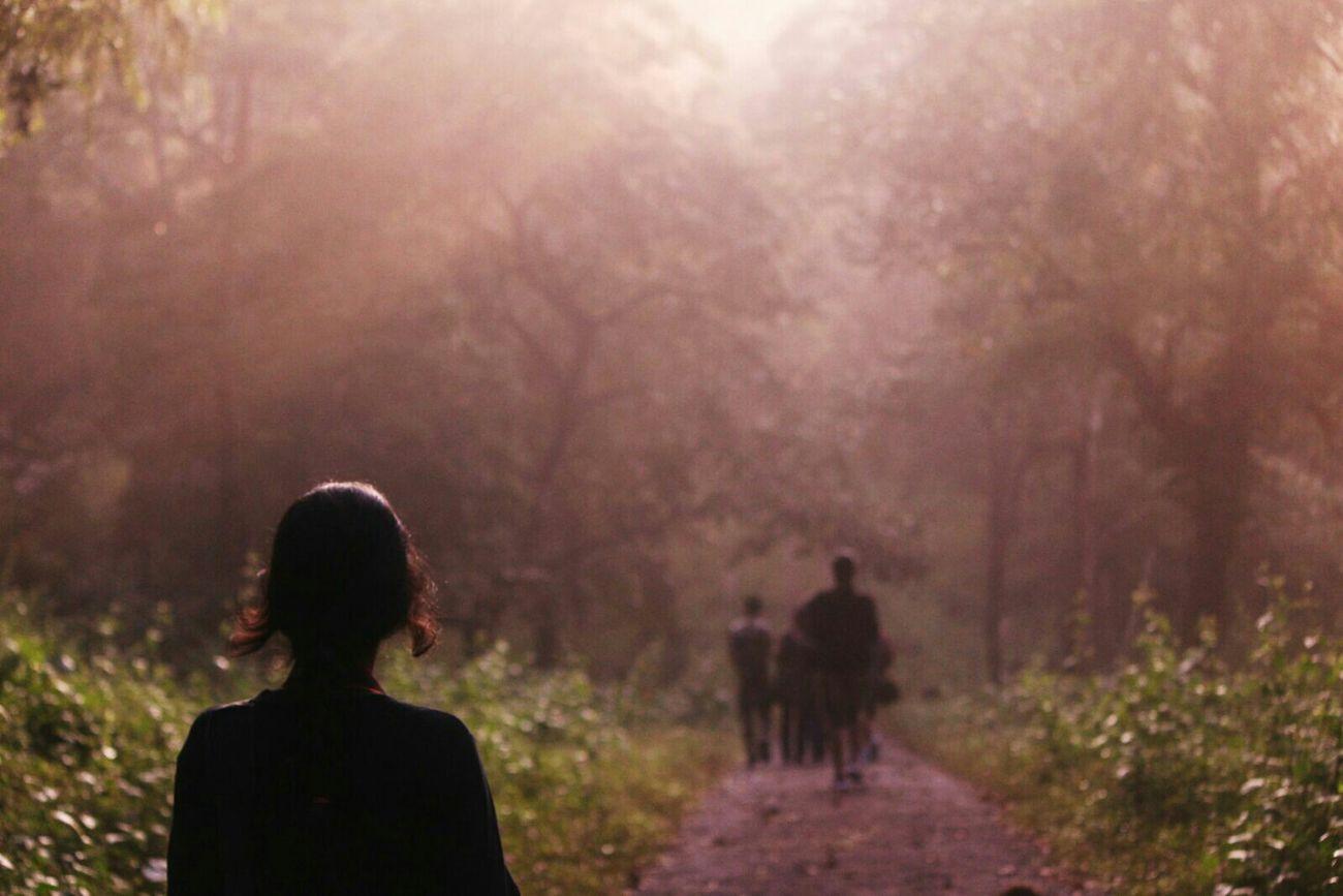 Into the woods but more like a Stargate. Walk Soltitude Randomshot Random People Adventures Mothernature Breathe