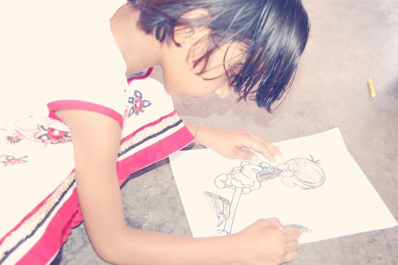 SastaFotu Bharat India Drawing Animato