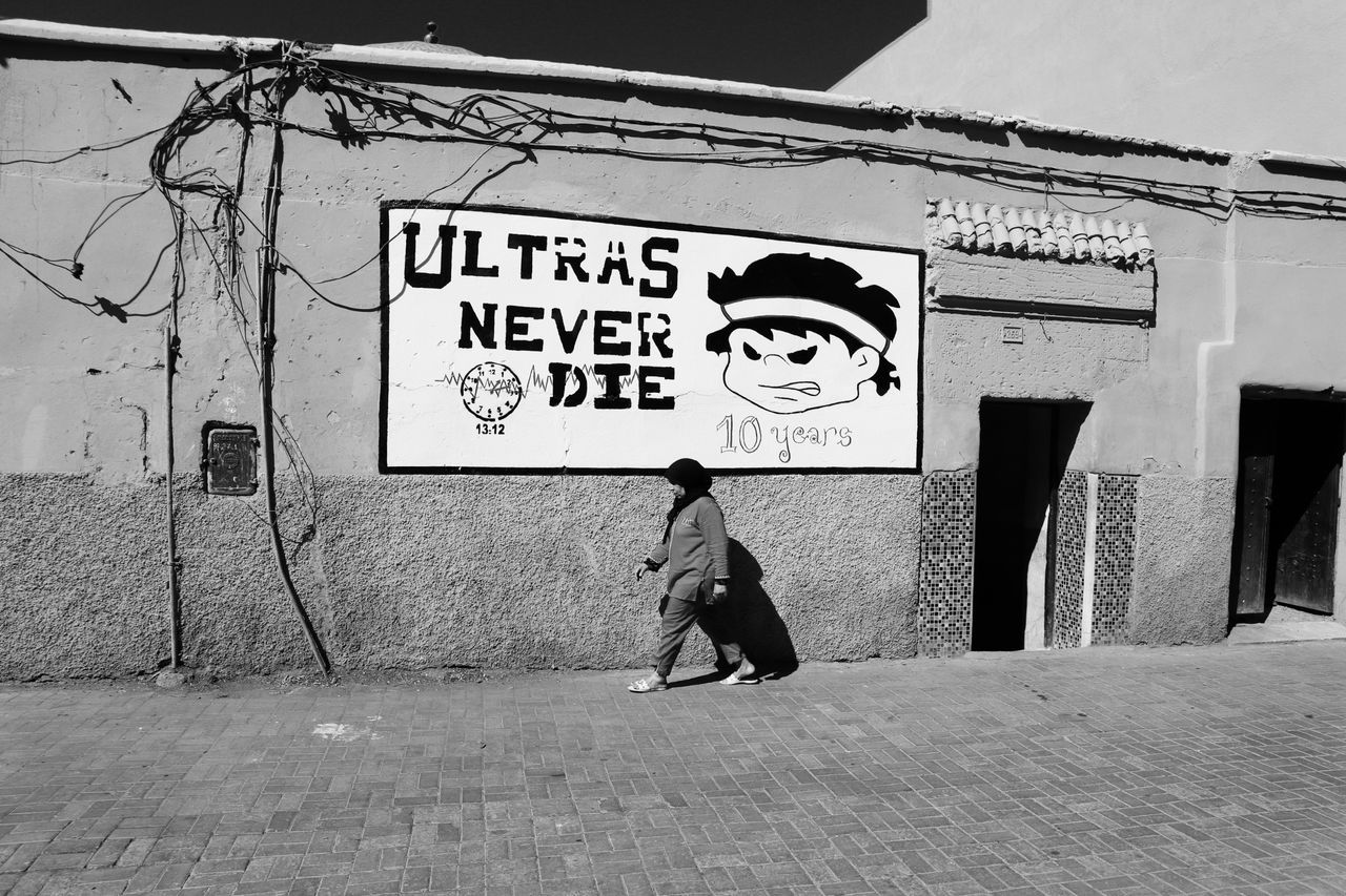 Blackandwhite Marrakech Morocco One Person EyeEmNewHere