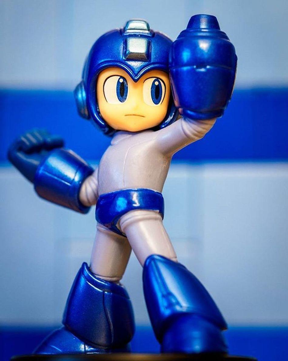 Megaman Mega Man CAPCOM Nintendo Amiibo SuperSmashBros