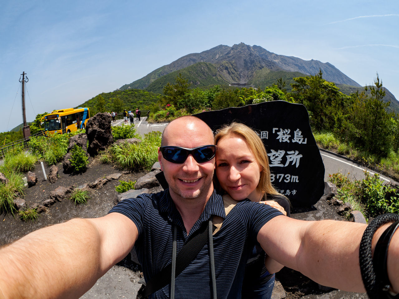 Photos from Sakurajima, Japan Beauty In Nature Day Japan KYUSHU Leisure Activity Lifestyles Looking At Camera Love Mountain Nature Outdoors Photographing Photography Themes Portrait Real People Scenics Self Portrait Photography Selfie Smiling Togetherness Two People Vacations Women Young Adult Young Women