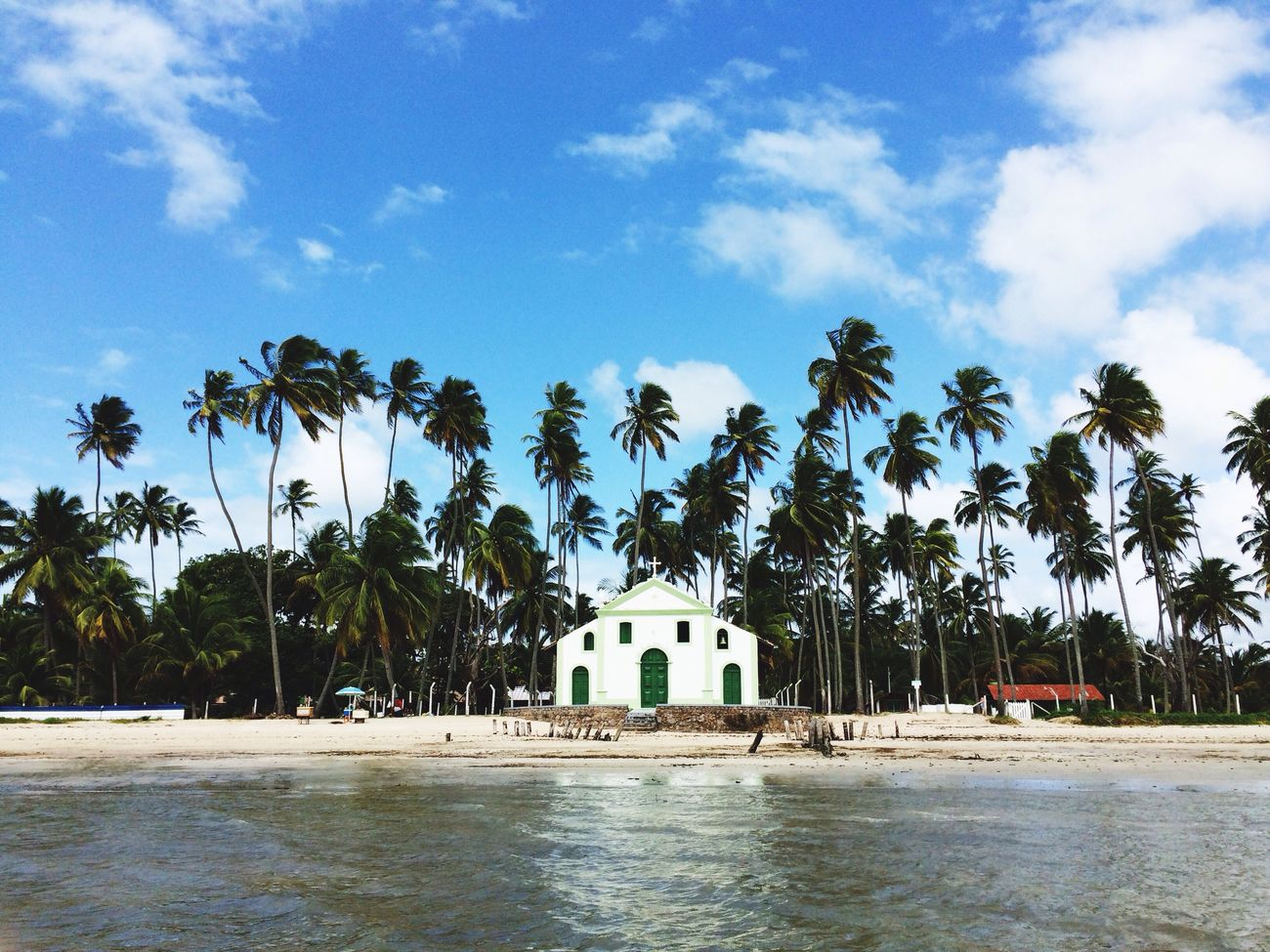 Praia Dos Carneiros Igrejinha Church Barroco Colonial The Great Outdoors - 2016 EyeEm Awards