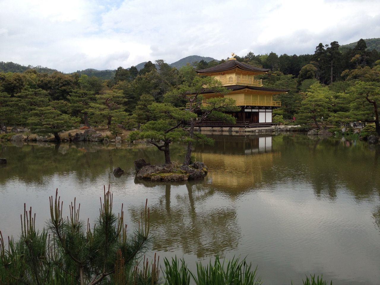 Japan Kyoto Golden Temple Outdoors Refelections Travel Destinations