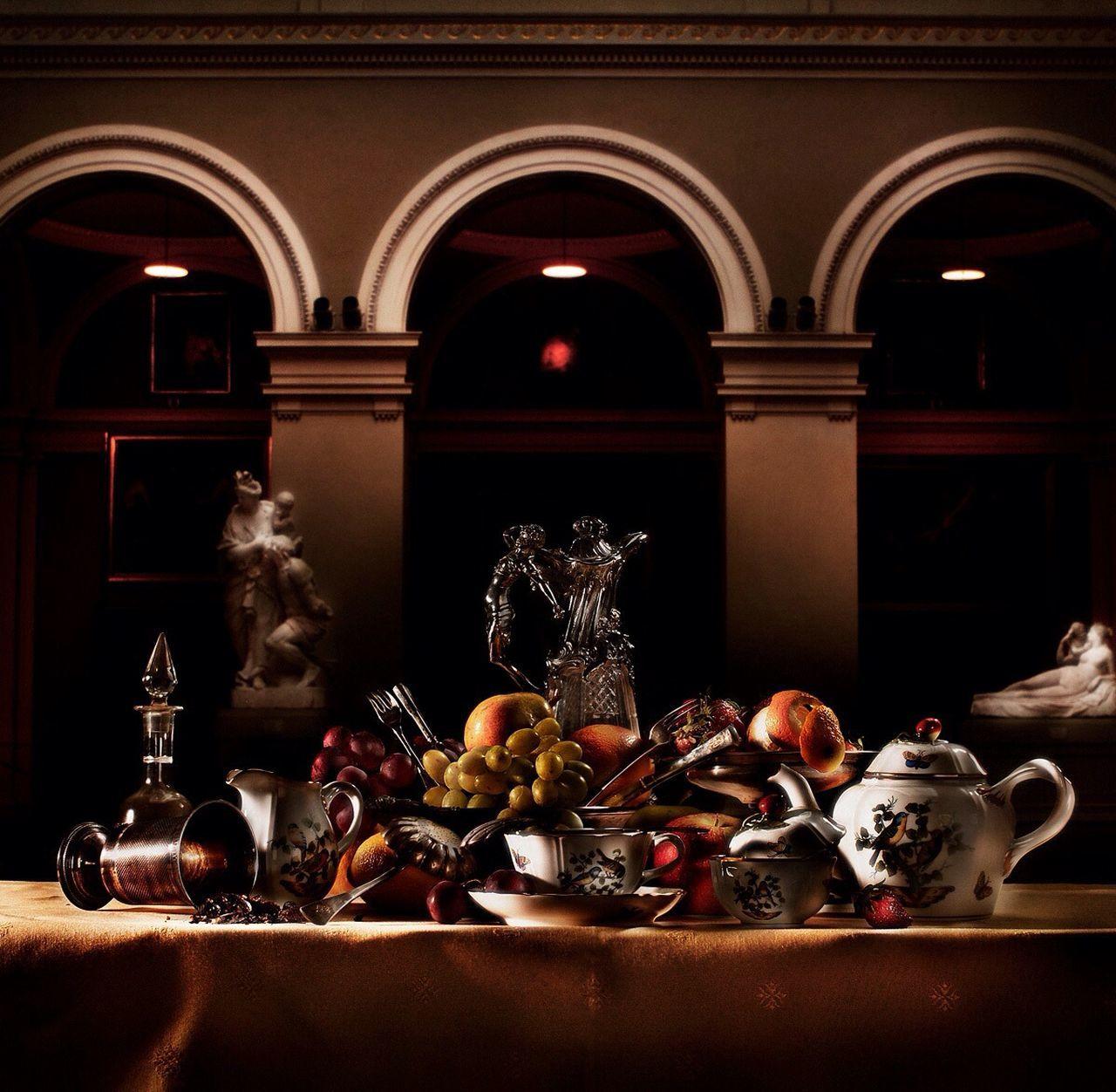 Museum Stillife Food Art