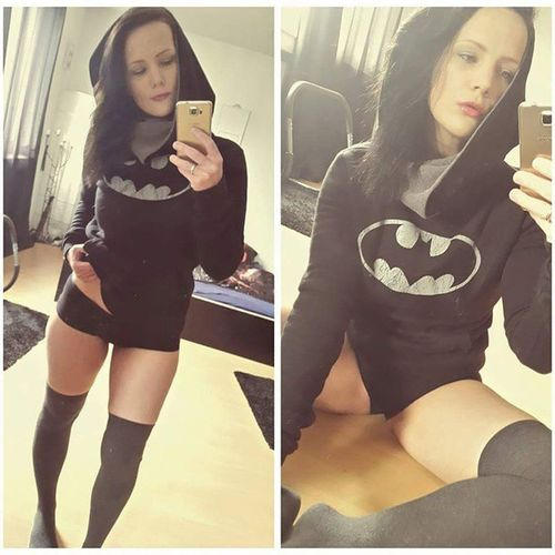 I just love this bitch. Still the hottest girl for me after 6 years @_iracundia_ Mywife Loveofmylife Batgirl Nerdgirl Gothamgirls Overknees Batman @girlsofgotham
