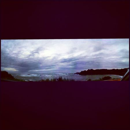 Power Outage Storm Ocean Beauty Panorama