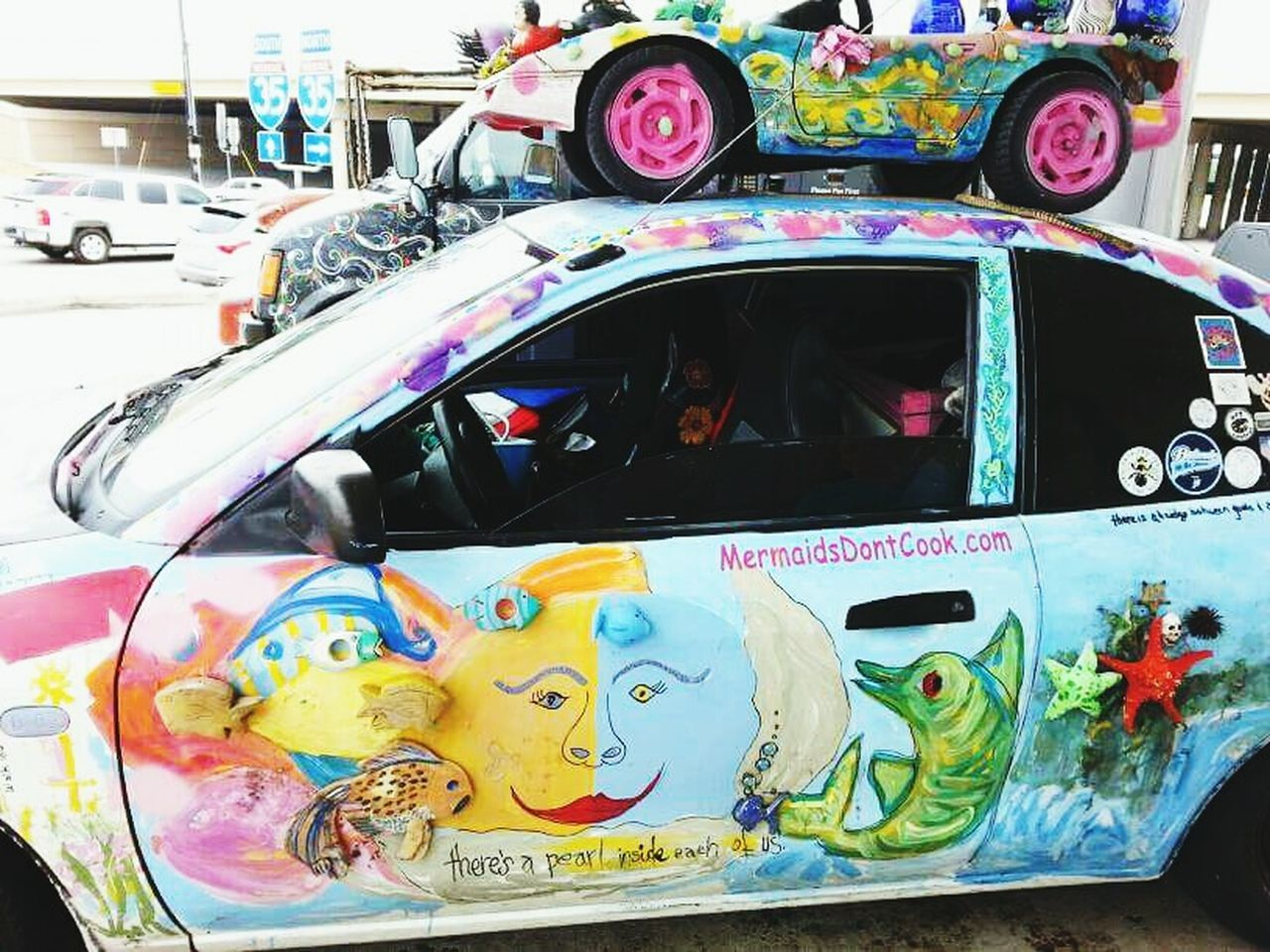 Art Cars Color Explosion Creativity