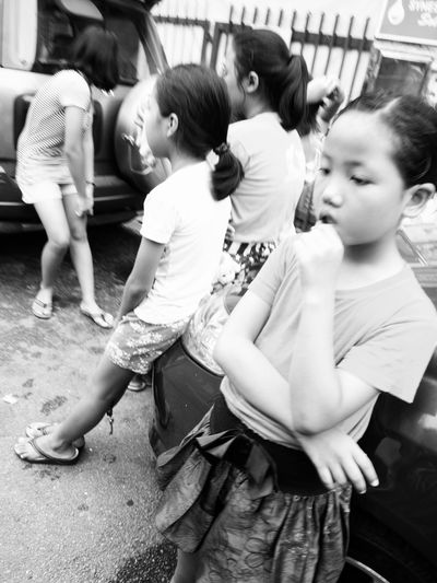 Children Thoughts Monochrome Life Candid Streetphotography ASIA