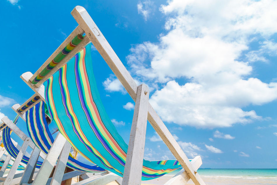 Beach Bed Blue Cloud - Sky Freedom Happiness Holiday Outdoors Recreation  Residential District Sky Sleep Summer Sunbathe Vacations