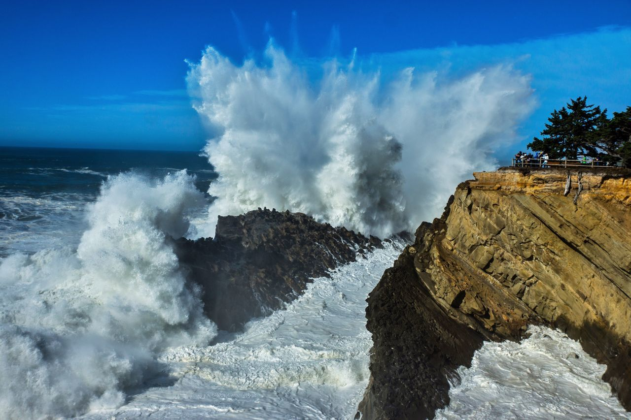 Shore Acres State Park,Oregon is home to some of the most spectacular storm waves along the Pacific Morthwest. Shore Acres State Park Oregon Traveling Travel Waves Waves Crashing The KIOMI Collection