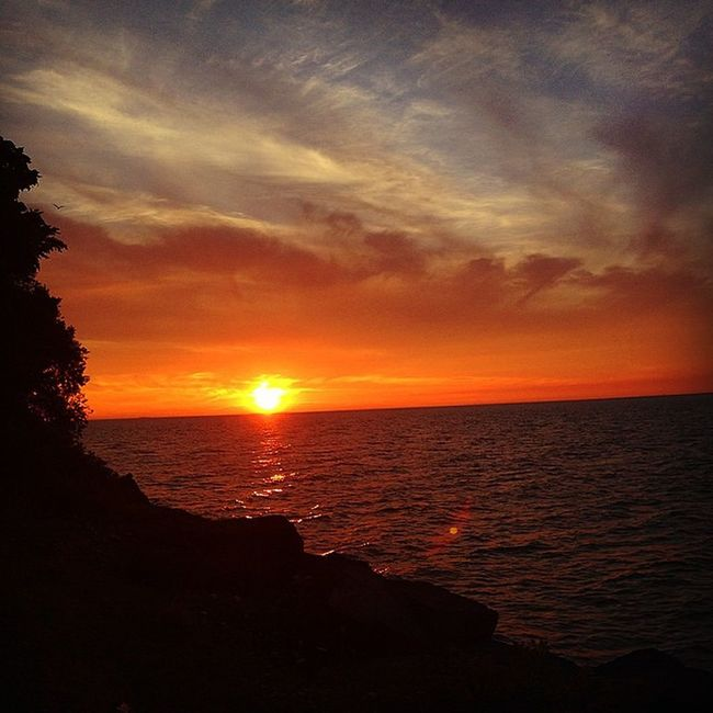 ✌️💫 Sunset Watchin Niagara Living Thisismyhappiness Forever Bliss Soulful Feedyoursoul