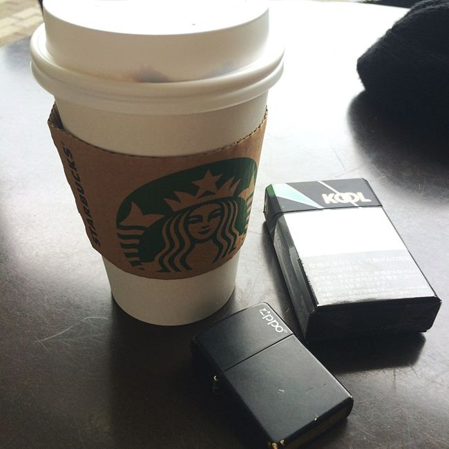 After a long time of the update once a day of Starbucks Japan Hyogo Prefecture Coffee And Cigarettes Coffee Break Street Streetphotography Enjoying Life Hello World IPhone Photography