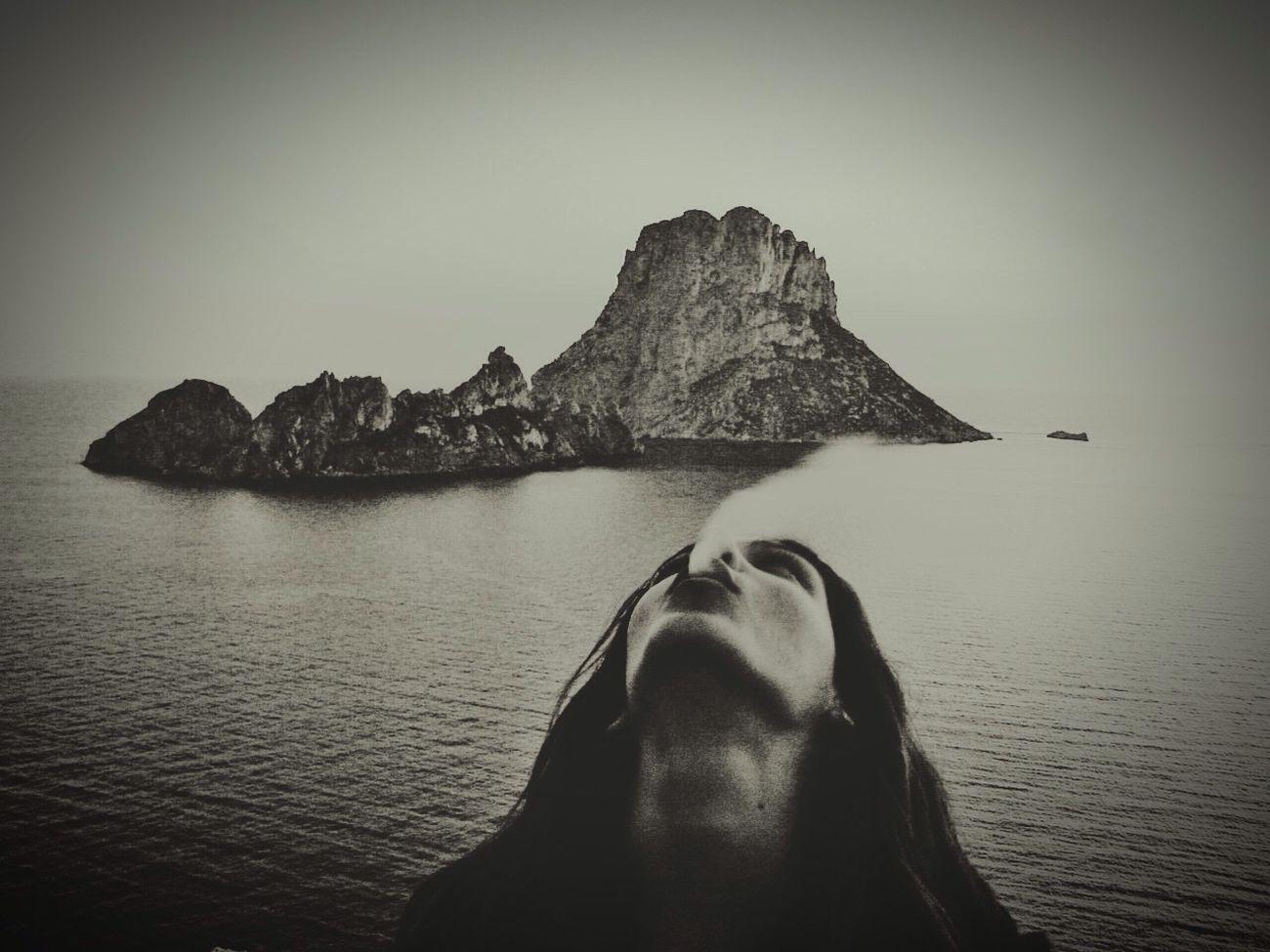 Smoking ashes!! Es Vedrà, Ibiza Raiphotography Blancoynegro Ibiza2016 Artistasdemundo ArtWork Benimussastudio