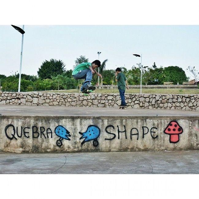 Quebra shape heuehue QuebraShape Q_S Ollie Parquedacidade InstaSkate