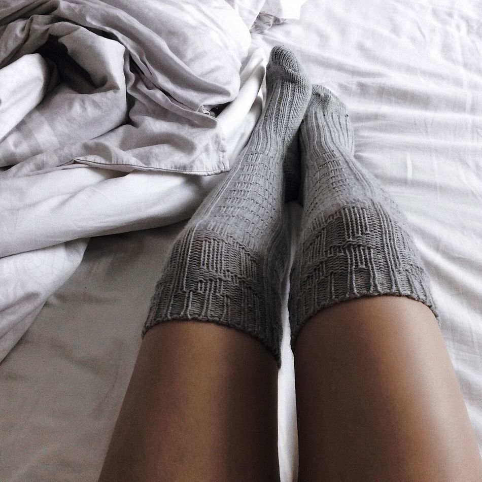 Human Leg Bed Human Body Part Indoors  Low Section Women Lifestyles Young Women One Person Bedroom Real People Young Adult One Young Woman Only Adult Only Women One Woman Only Adults Only Close-up Day People