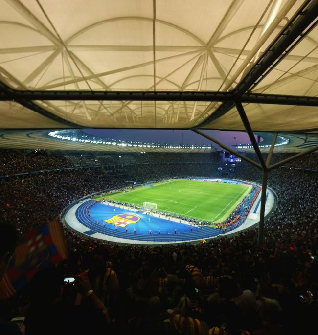 Una altra gran nit! CapmionsFCB TRIPL3T Uclfinal FCBarcelona