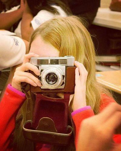So much fun working with the @ahgfun girls on their photography badge. AHG Ahgfun Vintage Camerasarecool