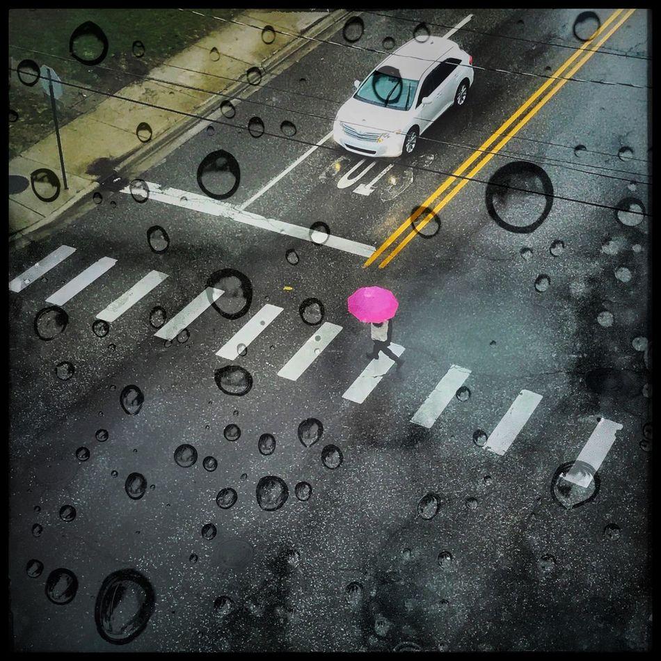 Double Exposure Rain
