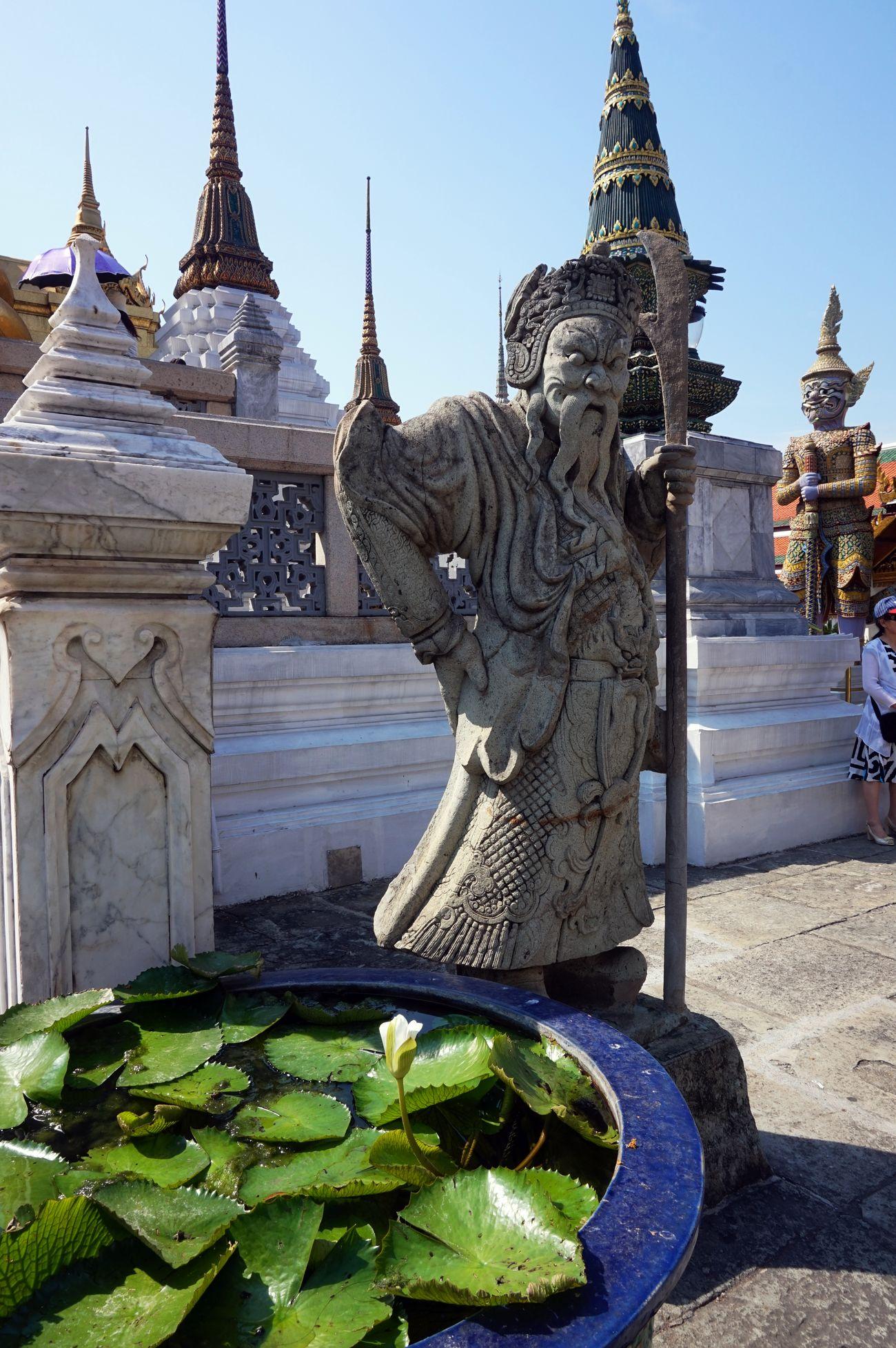 Grand Palace Bangkok Bangkok Thailand. Grand Palace Bangkok Thailand Place Of Worship Sculpture Spirituality Statue Thailand Thailand Photos Thailand_allshots Thailandtravel