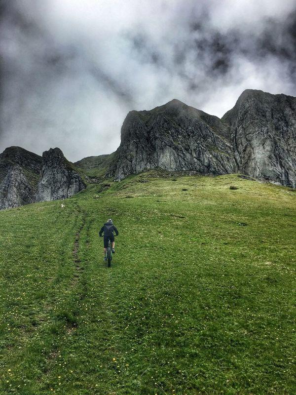 Evian France Lake Geneva Uphill IPhone Mountainbiking