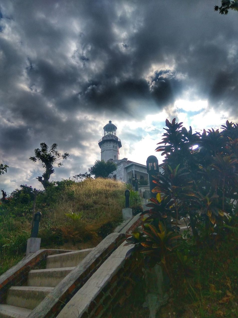 Tree Travel Cloud - Sky Sky Dramatic Sky No People Landscape Cityscape Architecture Day Eyeem Philippines Lighthouse