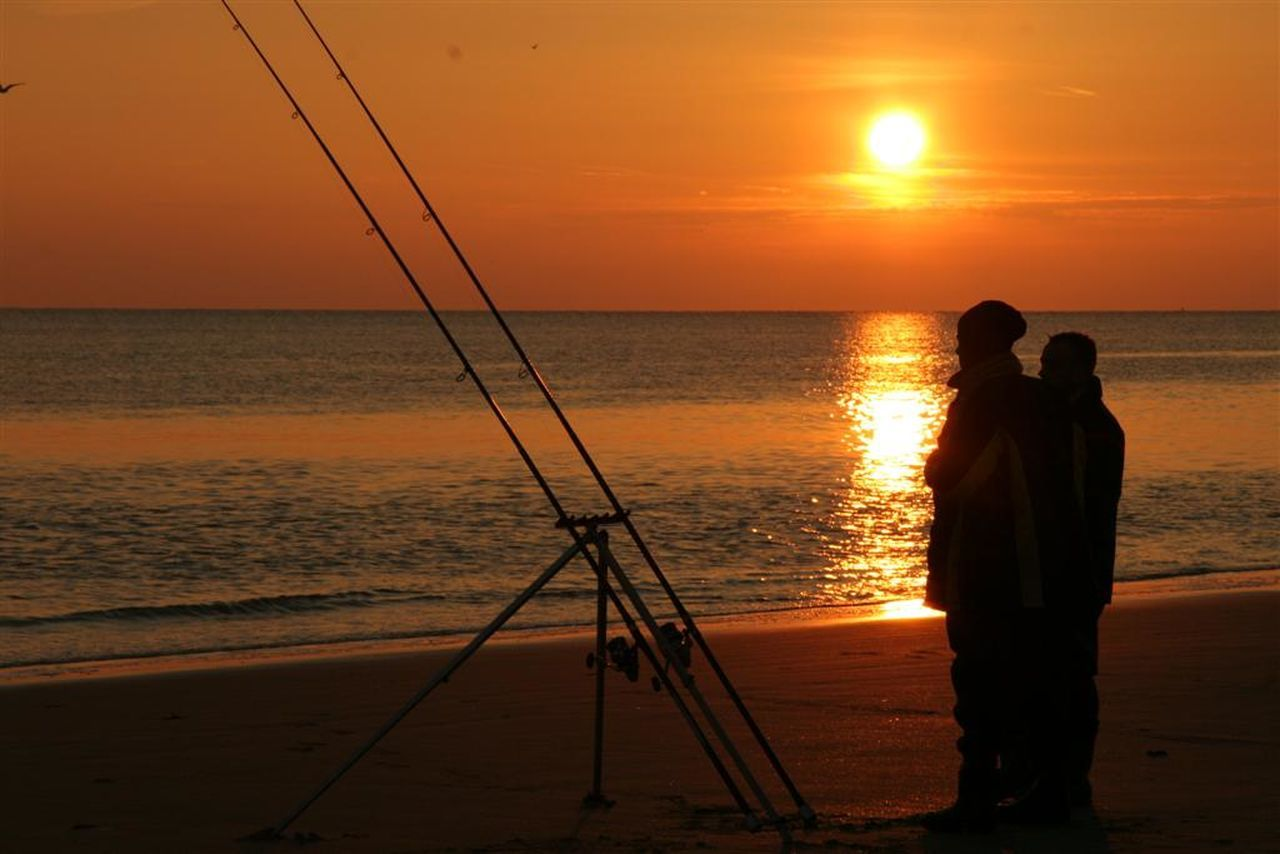 Horizon Over Water Fishermen Fishing Rod Silhoutte Photography Silhouette_collection Beach Photography Sunset Silhouettes Sunset_collection Sky_collection EyeEm Best Shots Beautiful Nature Tranquil Scene Sunset View. EyeEm Best Shots - Nature Eye4photography  EyeEm Nature Lover Sky And Beach Water Reflections Reflection_collection Nature_ Collection  Beach ViewSeascape Photography Sea_collection Sunset_captures Water_collection