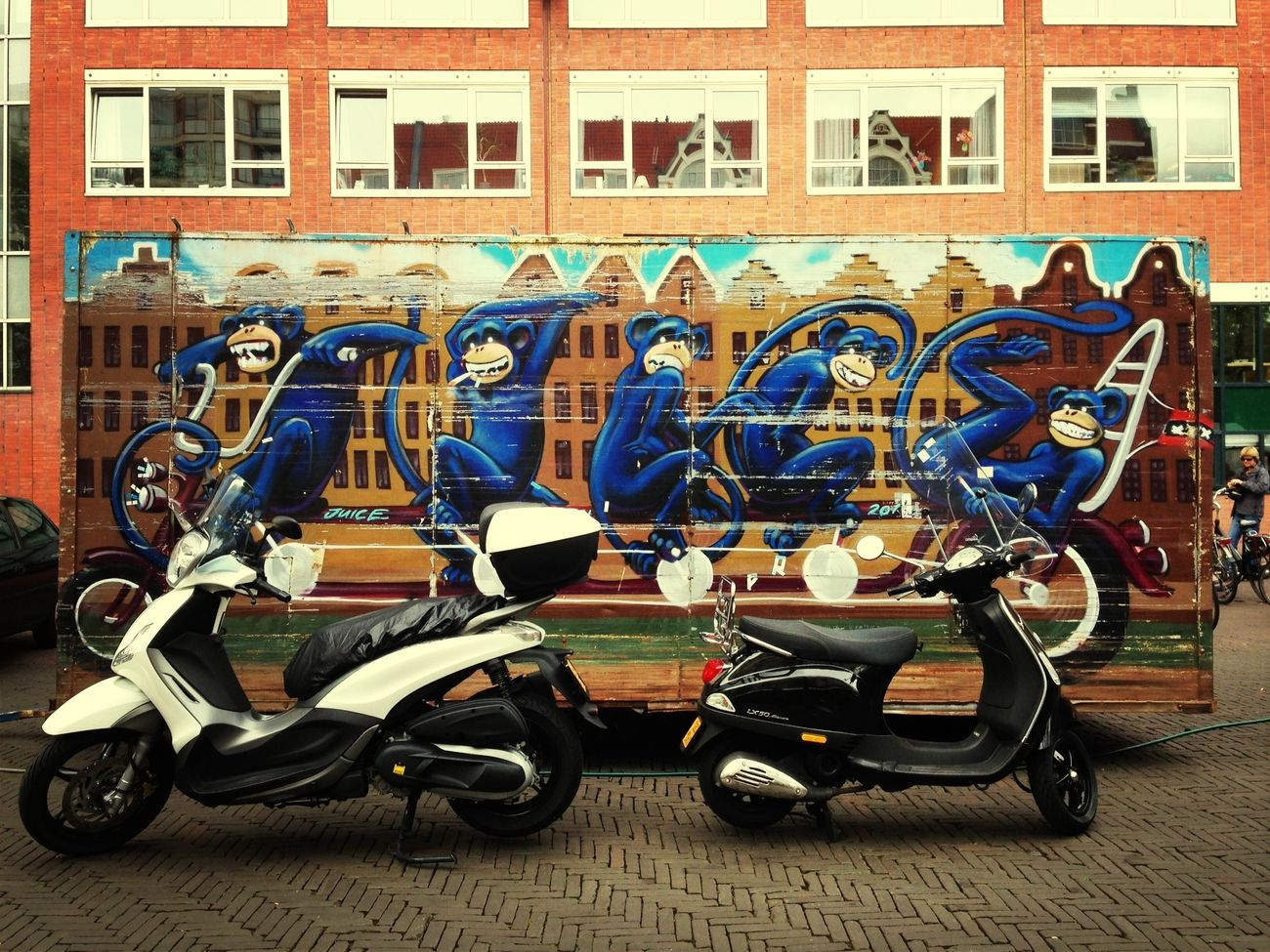 Streetart Scooters