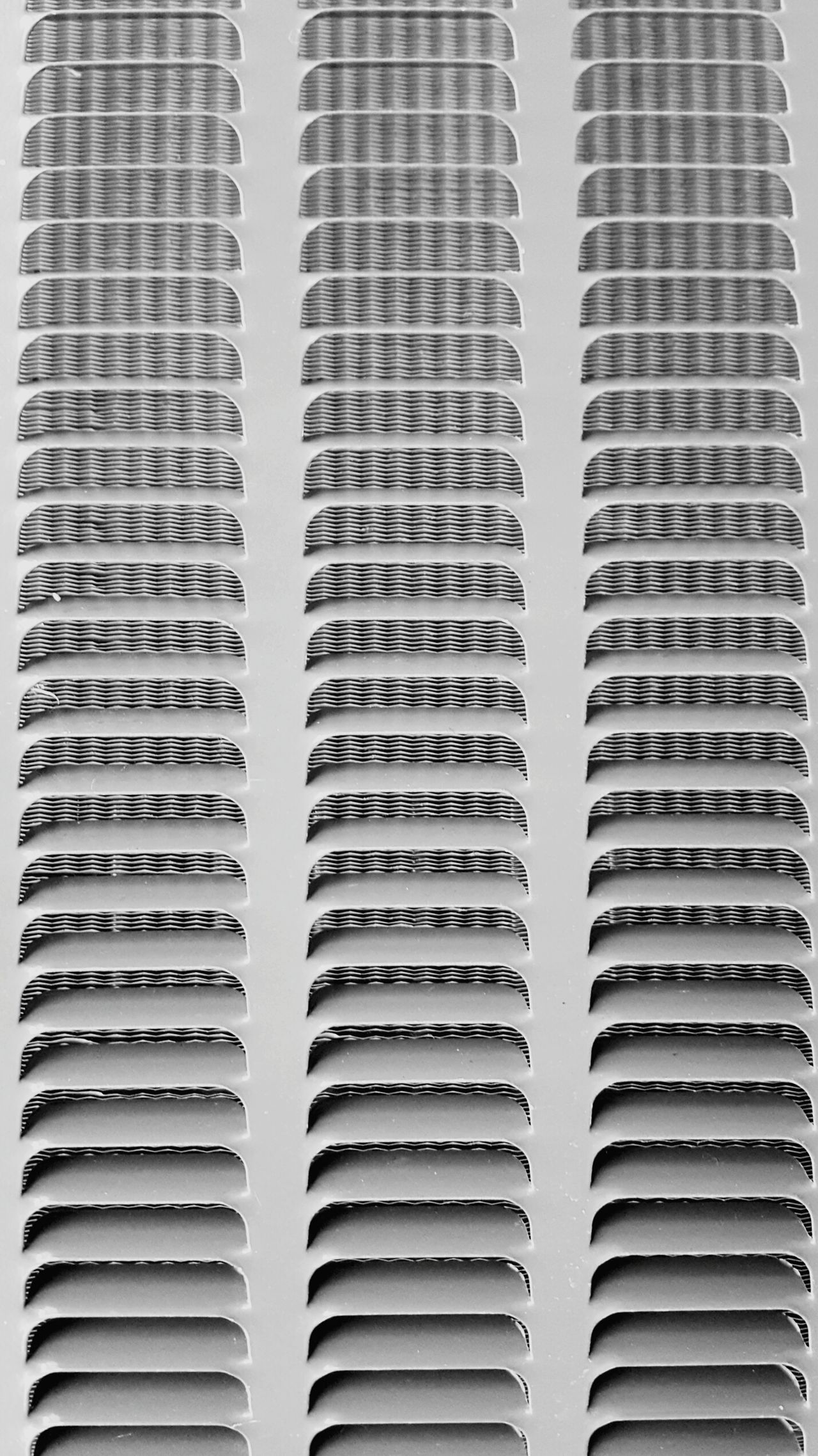 Air conditioning unit vent Backgrounds Full Frame Textured  Pattern Close-up No People Texture Photography Simple Cellphone Photography Machinery Black And White Modern Abstract