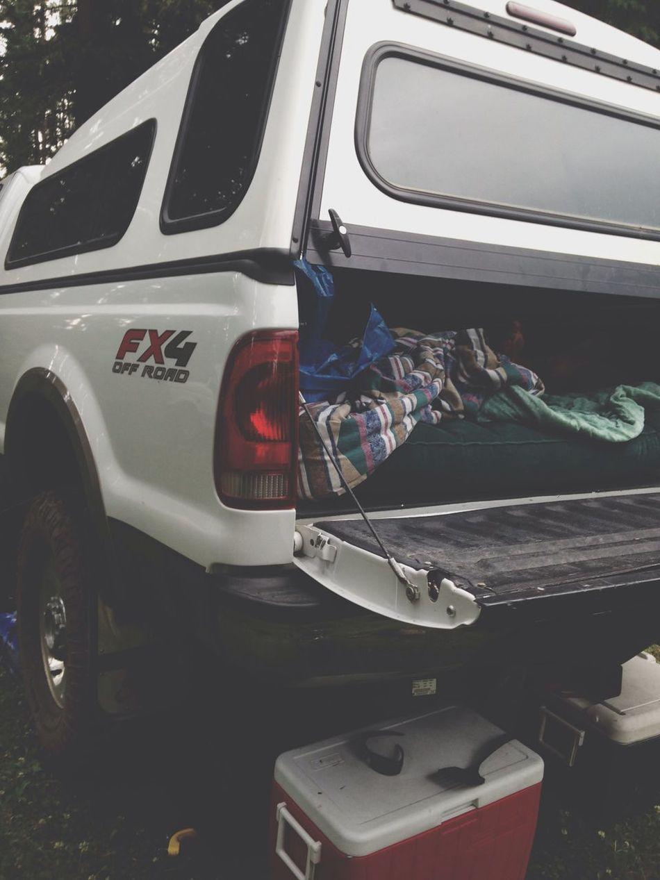 Camping setup ⛺️ Camping Ford F350 6.0L First Eyeem Photo