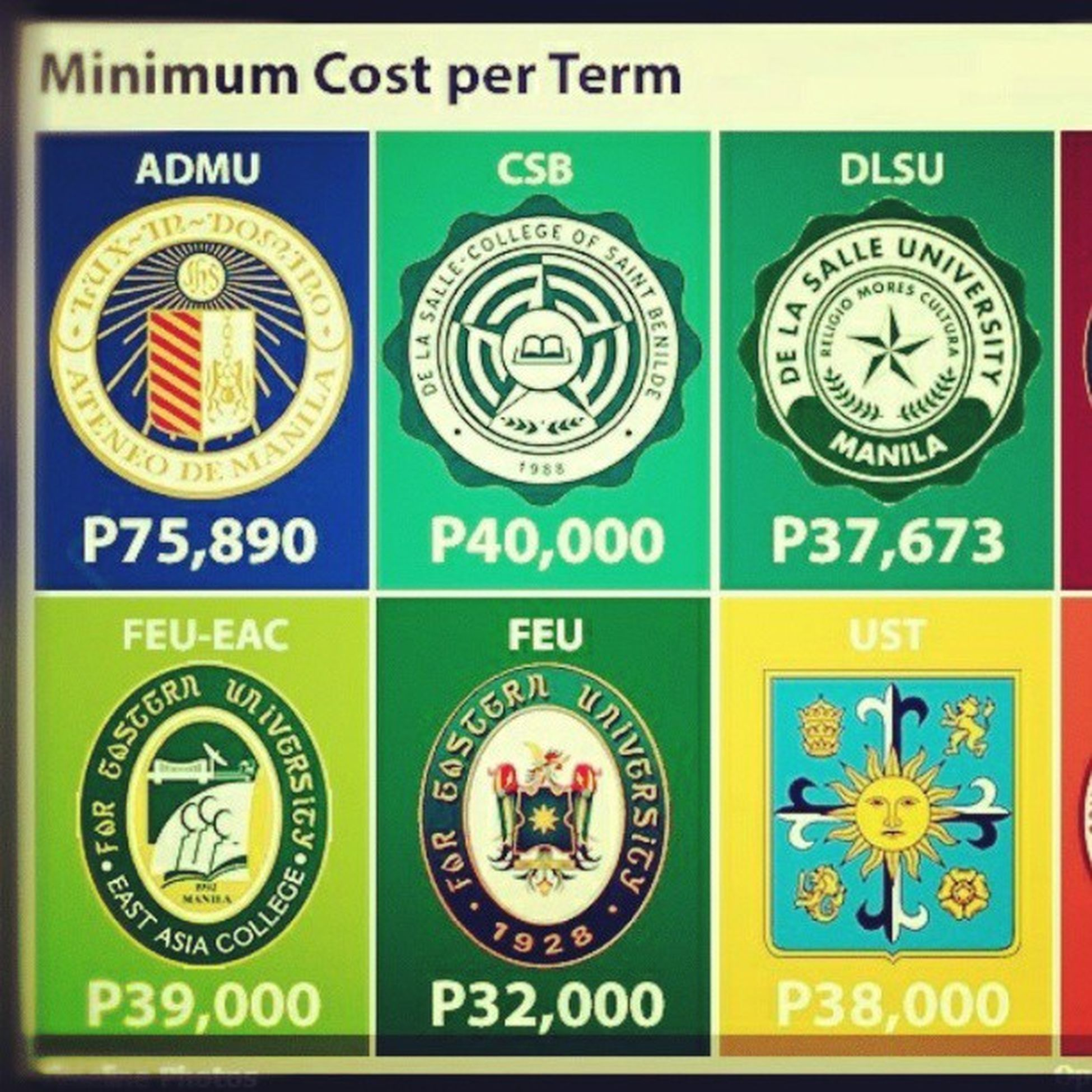 Hahahaha. This is it baby. Minimum cost per term. Feueac .
