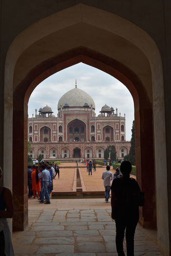 looking through Architectural Feature Architecture Day Dome Historical Building Palacial Through An Arch Travel Destinations