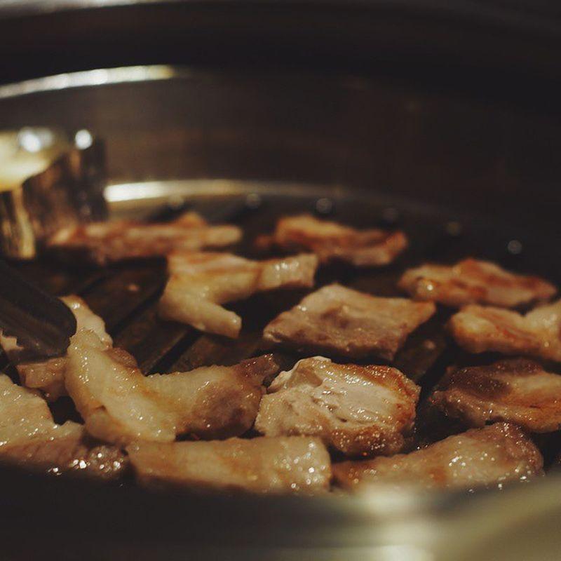 เมื่อวานฏพสในเฟสฯ ว่าอยากกิน ก็จัดกันไป SandwizInBKK Bangkok Koreantown BBQ Travel Sightseeing KoreanFoods