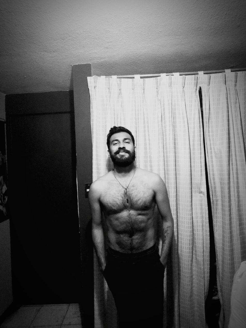 BisexBoy Today's Hot Look Beardporn Beardman Shirtless Mybody Nudesmen ILoveMyself Hairyman Hairychest