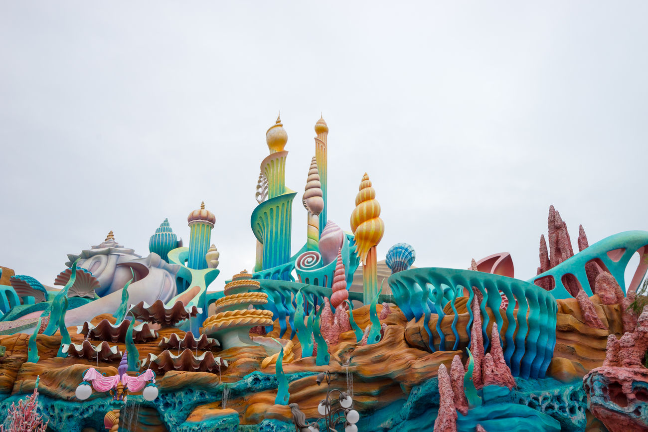 Architecture Cloudy Famous Place Marmaidlagoon Tokyo Disney Sea Tourism Travel Destinations Vacation