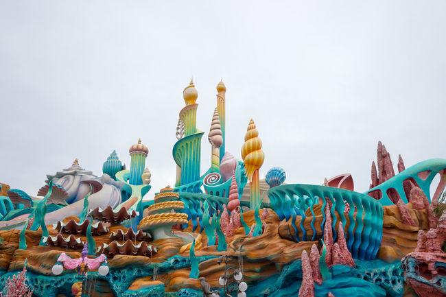 Architecture Cloudy Famous Place Marmaidlagoon Tokyo Disney Sea Tourism Travel Destinations Vacation