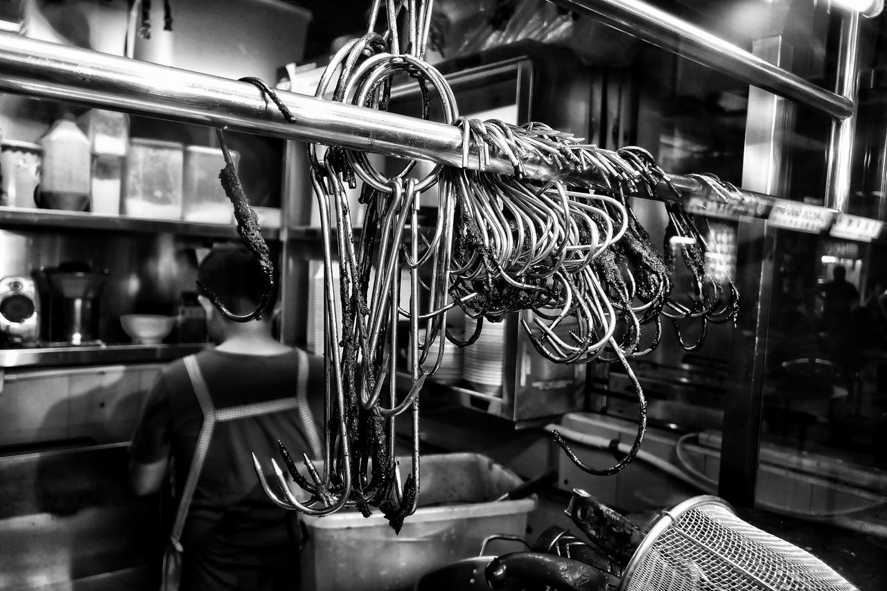 All Sold Out Sold Out Char Siew Hawker Food Black And White Singapore Food Monochrome Photography