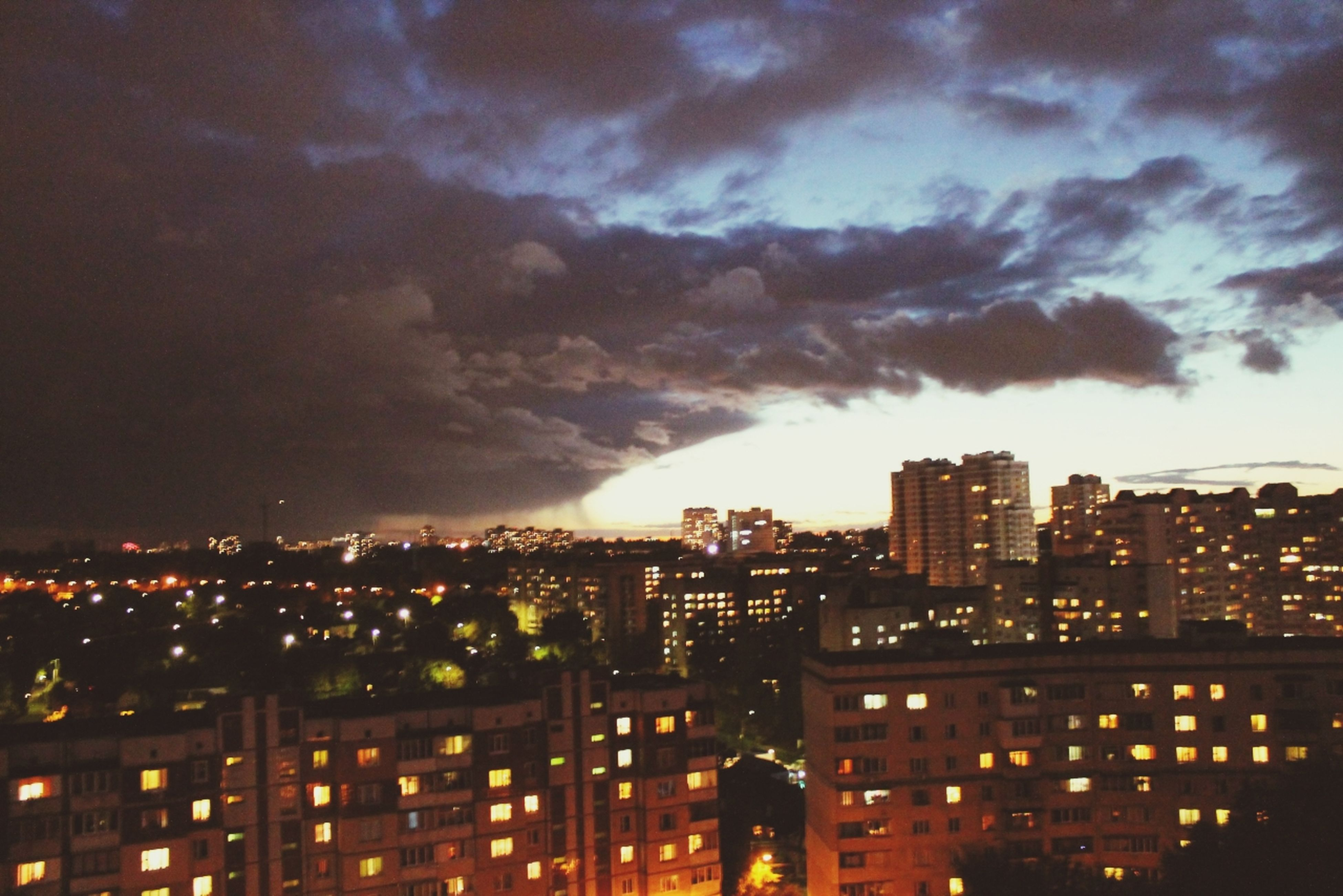 Вид с окна )